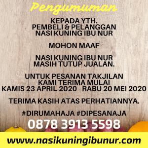 Info Jualan Ramadhan 2020